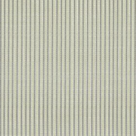 Symphony Raya - Peyote - Narrow stripes in grey and stone colours running vertically down polyester and cotton blend fabric