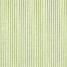 Symphony Raya - Champagne - Polyester and cotton blended together into a light green and cream coloured vertically striped fabric
