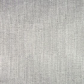 Symphony Hogar - Sable - Polyester and cotton blend fabric with very subtle stripes in such a pale shade of grey that it almost appears whit