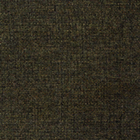 Thistle Doyle - Chocolate - Green-brown and charcoal speckled fabric made entirely from polyester