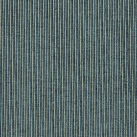Weaver Sparrow - Pewter - Polyester and cotton blend fabric featuring a design of very thin vertical stripes in dark grey and very pale grey