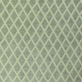 Weaver Finch - Linen - Simple beige diamond shapes on a cream coloured polyester and cotton blend fabric background
