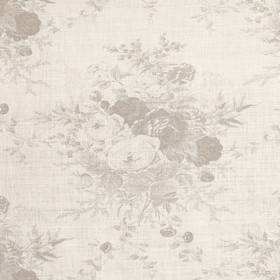 Roses - Oyster - Oyster white fabric with rose impressions
