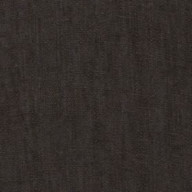 Plain - Charcoal - Graphite coloured 100% linen fabric