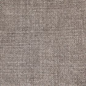 Earth - Stonewash - Dark brown and white woven fabric made from 100% linen