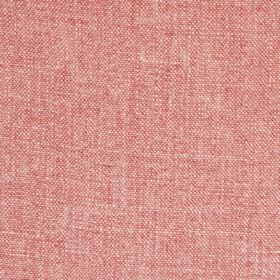 Pink - Stonewash - 100% linen woven from pinkish red and cream coloured threads