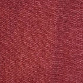 Red - Stonewash - Pillarbox red coloured 100% linen fabric