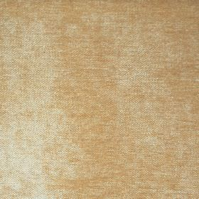 Banbury Co-Ordinate - Biscuit - Fabric woven from a mixture of caramel and white coloured filament and chenille polyester threads
