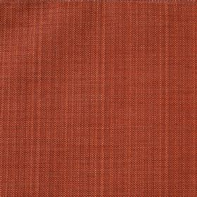 Celine Co-Ordinate - Terracotta - Dark paprika orange coloured fabric woven from a blend of polyester and cotton