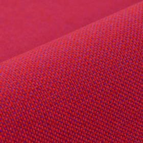 Silvretta CS - Red - Fabric woven from vivid fuschia and violet coloured 100% Trevira CS threads