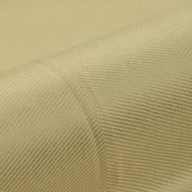 Eiger CS - Gold Beige - Champagne coloured fabric featuring a very subtle pattern of thin, diagonal lines, made from 100% Trevira CS