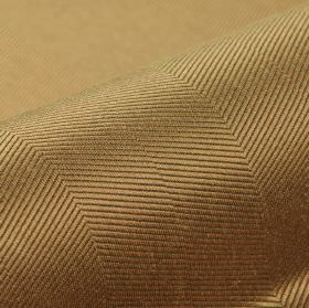 Eiger CS - Brown (8) - Bronze coloured 100% Trevira CS featuring a subtle thin diagonal line pattern