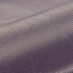 Eiger CS - Purple - Fabric made from 100% Trevira CS in grey and mauve colours, featuring a pattern of thin, diagonal lines