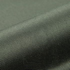 Eiger CS - Black (17) - Steely grey fabric patterned with a series of thin diagonal lines, made entirely from Trevira CS