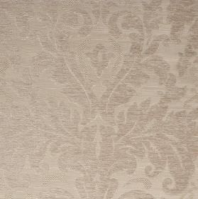 Augusta - Beige Cream (1) - Very subtly patterned fabric made in two similar pale shades of silver from polyester, rayon, viscose and viscose-