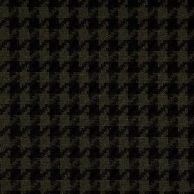Corbier CS - Black (1) - Black and battleship grey coloured houndstooth patterns woven into 100% Trevira CS fabric