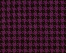 Corbier CS - Purple (3) - Fabric made from purple and black houndstooth patterned 100% Trevira CS