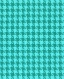 Corbier CS - Blue (5) - Bright cyan and light teal making up a simple houndstooth pattern on fabric made entirely from Trevira CS