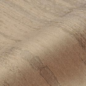 Rock - Brown (3) - Patchy grey stripes on a background of fabric made from cotton, linen and polyester ingrey with a slight pink tinge
