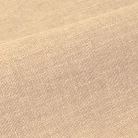 Ragga - Beige (2) - Fabric made from threads of cream and pale grey coloured linen and polyester