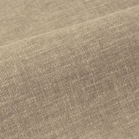 Ragga 292cm - Beige - Some cream coloured threads showing through the otherwise light brown-grey coloured linen and polyester blend fabric