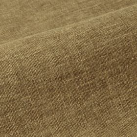 Ragga 292cm - Brown - Walnut brown coloured linen and polyester blend fabric featuring some pale cream coloured threads