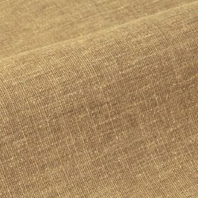 Ragga - Brown Beige (20) - Fabric made with a 50% linen and 50% polyester content, with some patchy light brown and warm cream coloured area