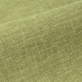 Ragga 292cm - Green - Two shades of olive green making up a linen and polyester blend fabric with slightly uneven colouring