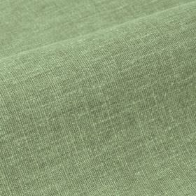 Ragga - Green (23) - Fabric made from linen and polyester with slightly patchy colouring in two different light shades of jade green