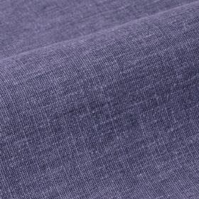 Ragga - Purple Blue (24) - Linen and polyester blend fabric in bright Royal blue, with some slightly lighter threads showing through