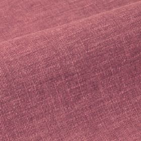 Ragga 292cm - Red - Linen and polyester blend fabric made with patchy dusky pink and grey colouring