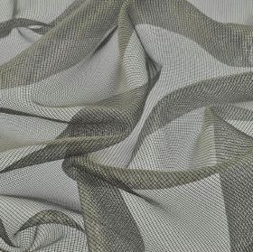 Buccari CS - Grey (4) - Net fabric made from 100% Trevira CS in iron grey