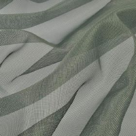 Buccari CS - Grey Blue (5) - Silver grey fabric made from 100% Trevira CS with a tight net effect