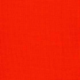 Orelle CS - Orange Red (3) - Very vivid fabric made entirely from Trevira CS in a shocking shade of orange, behind a tiny, very subtle grid