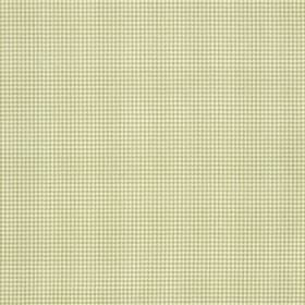 Orelle CS - Beige Cream - Fabric made from off-white coloured 100% Trevira CS behind a very small, simple grid pattern in grey