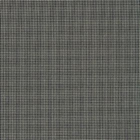 Orelle CS - Beige Black (13) - Fabric made entirely from Trevira CS in white, with a very small, simple grid pattern in a dark shade of blue