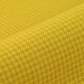 Orelle CS - Gold - Houndstooth patterned 100% Trevira CS fabric in rich mustard yellow and gold tones