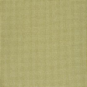 Orelle CS - Brown Green (1) - A miniscule brown-grey coloured grid printed on a light cream-beige coloured 100% Trevira CS fabric background
