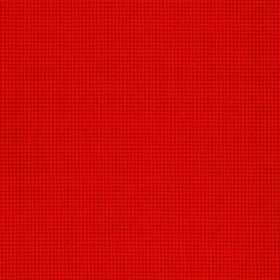 Orelle CS - Red - Bright, vivid, vibrant orange coloured 100% Trevira CS fabric covered with a very tiny, almost imperceptible grid