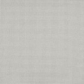 Orelle CS - Grey - 100% Trevira CS fabric in such a pale shade of grey that it almost appears white, behind a very small pale grey grid