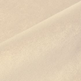 Argento - Beige Cream - Plain pinkish white coloured fabric made with a cotton, polyester and viscose blend