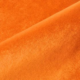 Argento - Orange (9) - Bright orange coloured fabric with a 35% cotton, 15% polyester and 50% viscose content
