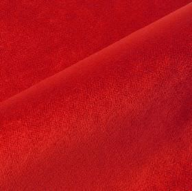 Argento - Red - Fabric made from a bright red blend of cotton, polyester and viscose