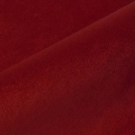 Argento - Burgundy - Plain burgundy coloured cotton, polyester and viscose blend fabric