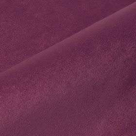Argento - Plum - Plain fabric made from purple coloured cotton, polyester and viscose