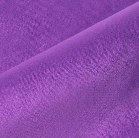 Argento - Purple - Vivid violet coloured cotton, polyester and viscose blend fabric