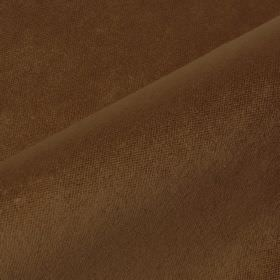 Argento - Brown (34) - Fabric made from a milk chocolate coloured combination of cotton, polyester and viscose