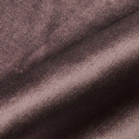 Arena - Brown (4) - Fabric made from cotton, modal and polyester with a slight sheen in a dark colour that's a blend of purple and grey