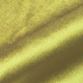 Arena - Gold Green - Cotton, modal and polyester blended together into a light olive green coloured fabric with a slight sheen