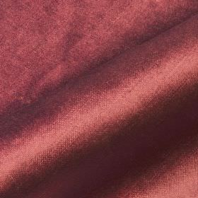Arena - Pink Red - Dusky mulberry coloured fabric made from cotton, modal and polyester with a subtle sheen